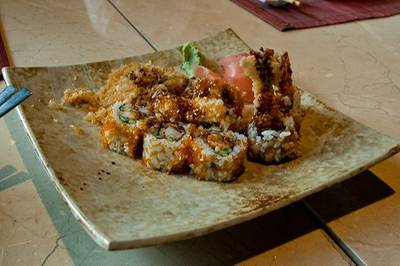 Tempura Ebi Maki   Tsu  JW Marriott