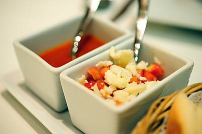 Tomato Salsa: Close up   Amici by Pomodoro