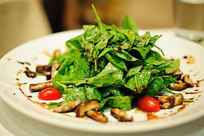 Rocket Salad with Grilled Porcini   Amici by Pomodoro