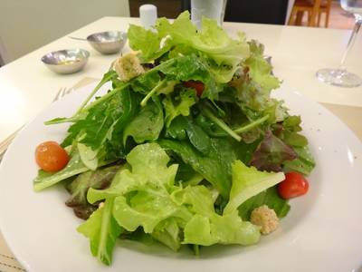 Salad of Mixed Green and Fresh Herbs ที่ ร้านอาหาร bEL GUARDO