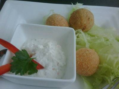 Fried Cheese Balls  1  4   50  TTOTT   Moon Glass The Social Bar