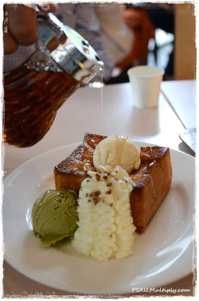 Shibuya HoneyToast  ที่ ร้านอาหาร After You Dessert Cafe J Avenue