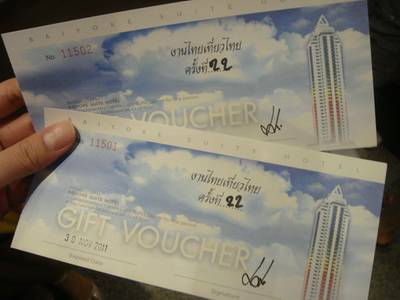 Voucher    Sky Lounge Baiyoke 1