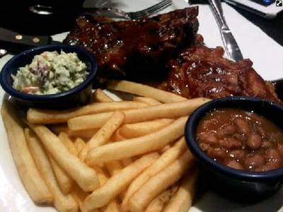 BBG Pork rib (560 )     Hard Rock Cafe Bangkok