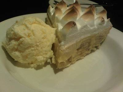 Banana cream pie (220 )       Hard Rock Cafe Bangkok