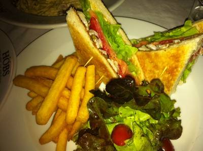 Club Sandwich   HOBS Bar &amp; Restaurant  Aree Garden