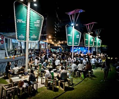 Heineken : Tonight is the night BEER FESTIVAL at Esplanade ที่ ร้านอาหาร Heineken's Beer Park @ Esplanade รัชดา