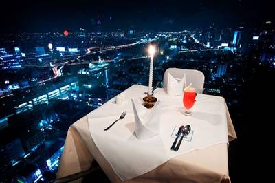sky longe Baiyoke (  )   Sky Lounge Baiyoke 1