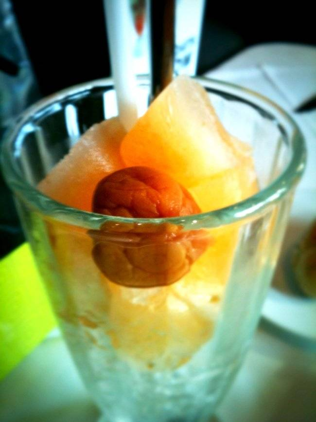 Chinese Plum + Sprite Float ที่ ร้านอาหาร Another Hound Café
