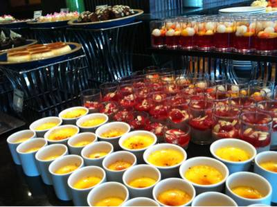 Dessert corner ^^   The Brasserie Holiday Inn Silom Hotel