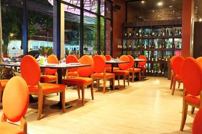 Peppery Barrel Bistro&Wine bar ที่ ร้านอาหาร Peppery Barrel Bistro & Wine bar