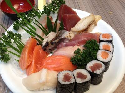 Last Order Set (1000.-)   Sakana Sushi &amp; Sashimi