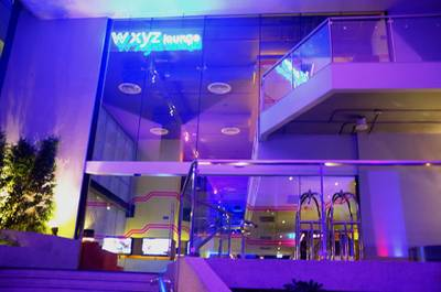 w xyz bar @ Aloft Bangkok ที่ ร้านอาหาร w xyz bar Aloft Bangkok