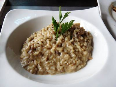 Risotto   Peppery Barrel Bistro &amp; Wine bar