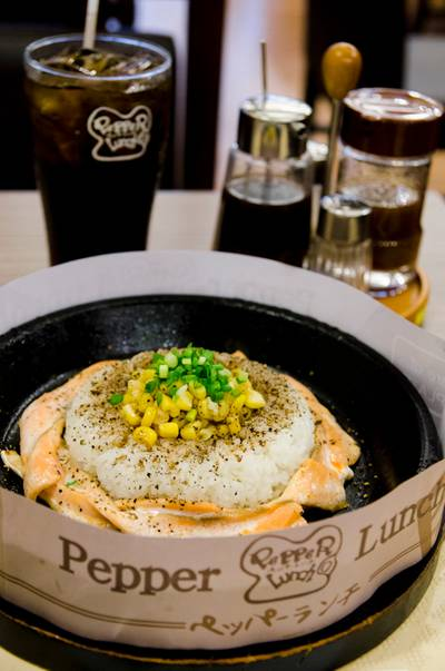 Pepper Lunch @ Central Plaza Rama 9 ที่ ร้านอาหาร Pepper Lunch Central Plaza Rama 9
