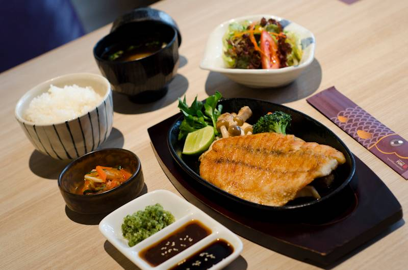 FUMi Japanese Cuisine The Mall บางกะปิ ที่ ร้านอาหาร FUMi Japanese Cuisine The Mall Bangkapi