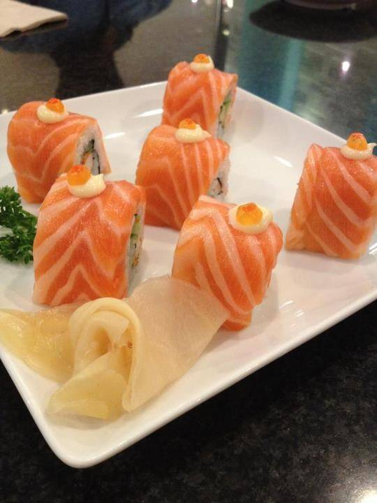 alaska salmon roll is my fav dish    