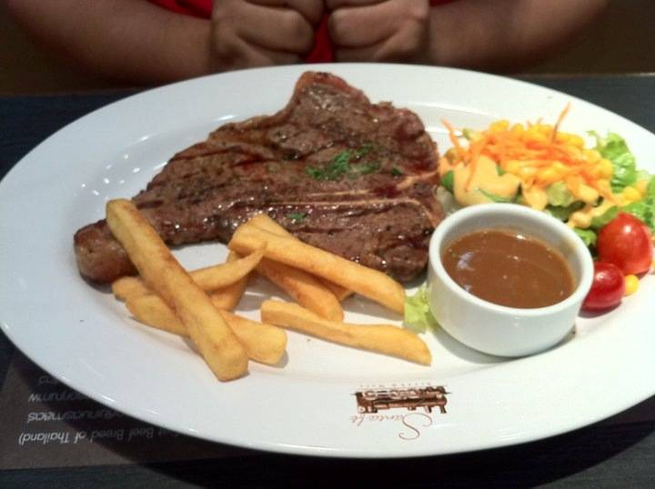 Santafe Steak @ Fashion Island ที่ ร้านอาหาร Santafe Steak Fashion Island
