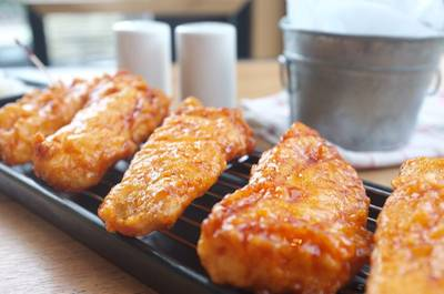 BonChon Crispy Fish ()   BonChon Chicken Central World