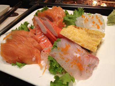 Sashimi   work     Elite Grill Bar K-Village