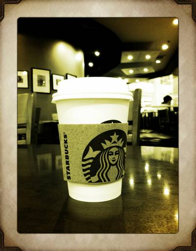 signature hot chocolate. tasty....   Starbucks Seacon Square