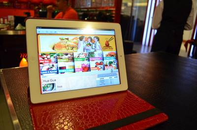  I-pad   Crystal Jacky Restaurant