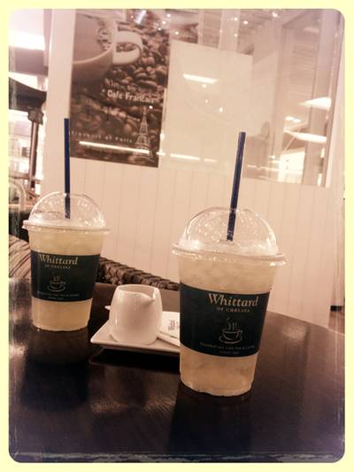 Greentea and peppermint ที่ ร้านอาหาร Whittard of Chelsea Central World