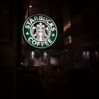 late night @ Starbucks ที่ ร้านอาหาร Starbucks Siam Paragon