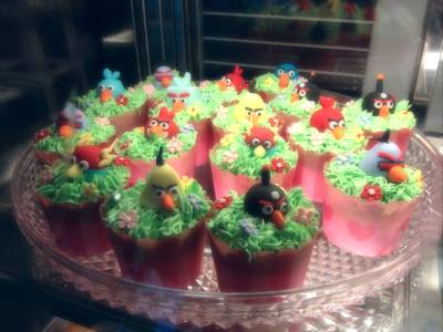 Cupcake Angry Bird   Ozio By Maprang
