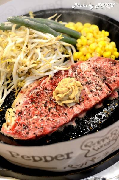 Shimofuri Pepper Steak 385 บาท ที่ ร้านอาหาร Pepper Lunch Fashion Island