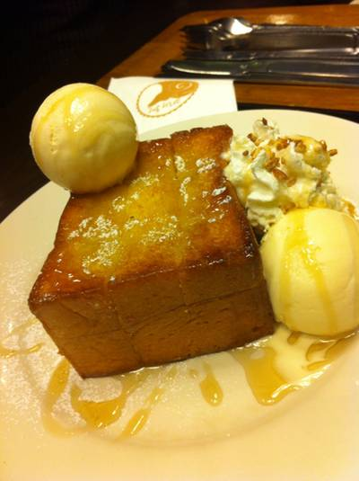 Shibuya honey toast   After You Dessert Cafe 