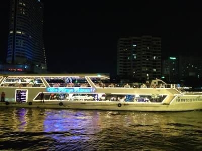 Chaopraya Princess 4 is Arriving ที่ ร้านอาหาร Chaopraya Princess Chaopraya Princess Cruise