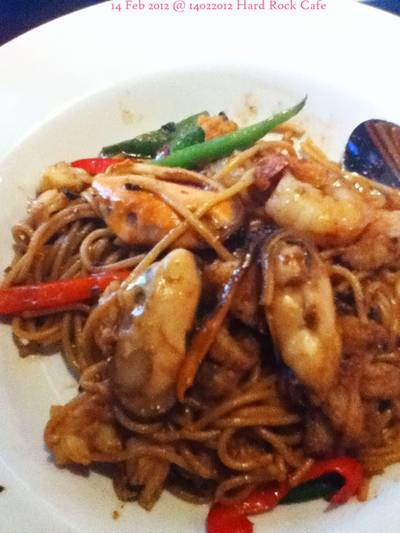 thai style seafood spaghetti   Hard Rock Cafe Bangkok