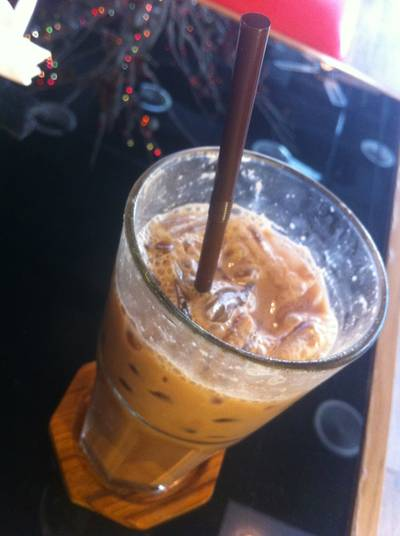 Iced Chocolate 58% (120Baht)   Chu