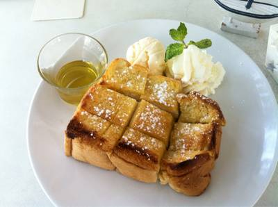 Honey Toast 79.-   The Butterhead
