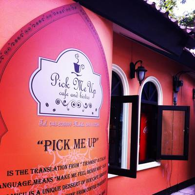 . .    Pick Me Up Cafe And Bistro