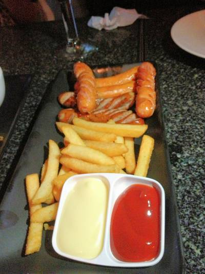 Assorted Sausagel ที่ ร้านอาหาร Share of Mind Pub & Restaurant
