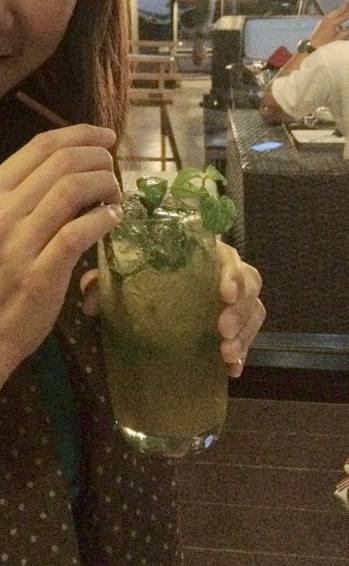 Green Tea Mojito    The Attitude Wine bistro &amp; Bar