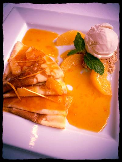 Crape Suzette   The Anna Restaurant &amp; Art Gallery