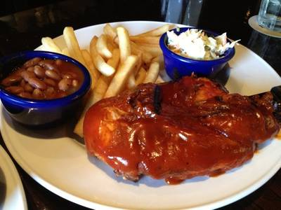 Hickory Smoked Bar-B-Que Chicken   Hard Rock Cafe Bangkok