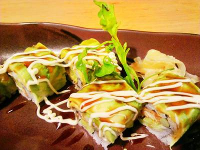 Dragon Roll   Fumi Japanese Cuisine 