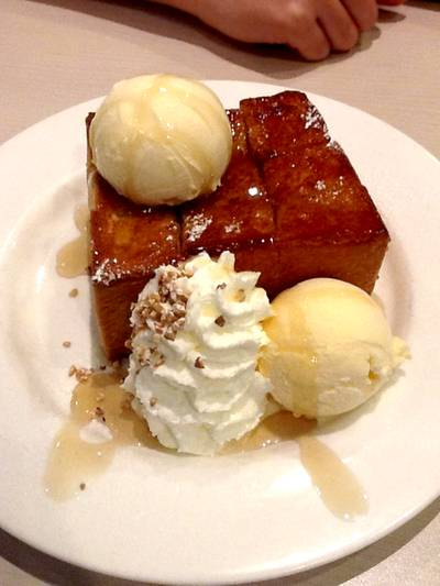 Shibuya Honey Toast ที่ ร้านอาหาร After You Dessert Cafe Siam Paragon