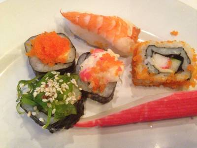 Sushi    Sky Lounge Baiyoke 1