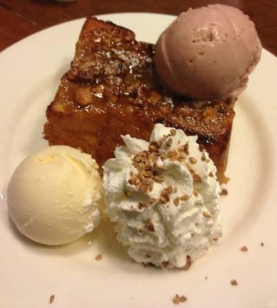 StickyToffee Toast ที่ ร้านอาหาร After You Dessert Cafe La Villa