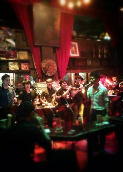 JRP Little bigband   Saxophone Pub &amp; Restaurant