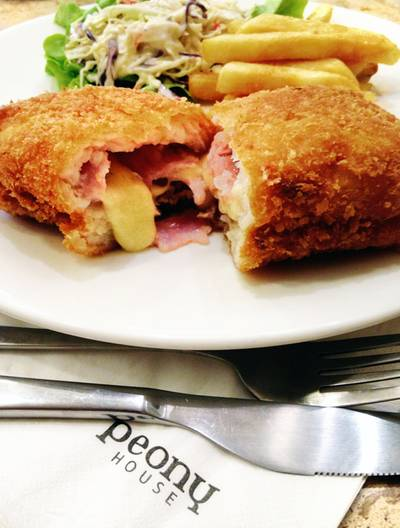 Ham Cheese Stuffed Fish Filet   Peony Teafe&#039; &amp; Gallery