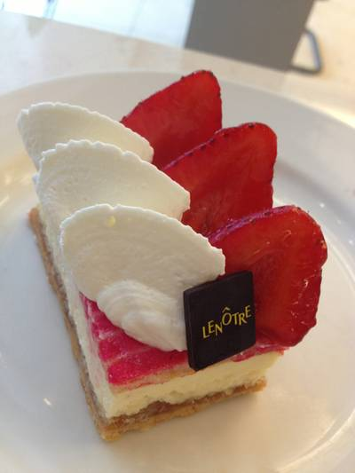 Schuss Cake   Lenotre Siam Paragon