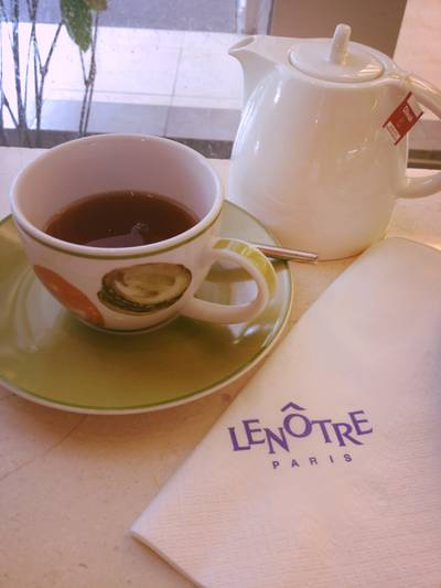 Vanilla Tea Rose   Lenotre Siam Paragon