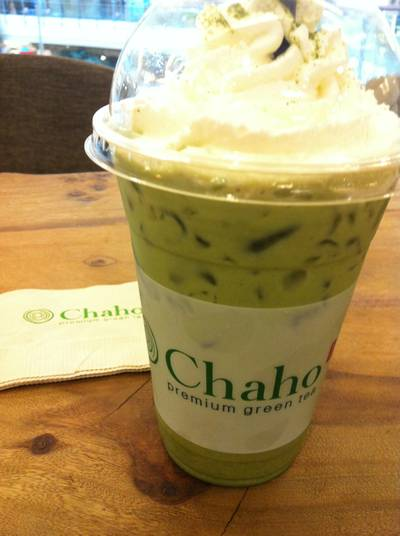 Chaho Cappucino Low Fat ที่ ร้านอาหาร CHAHO Central World