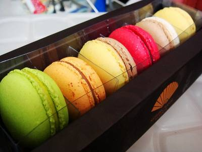 colorful macaron   Mandarin Oriental Shop